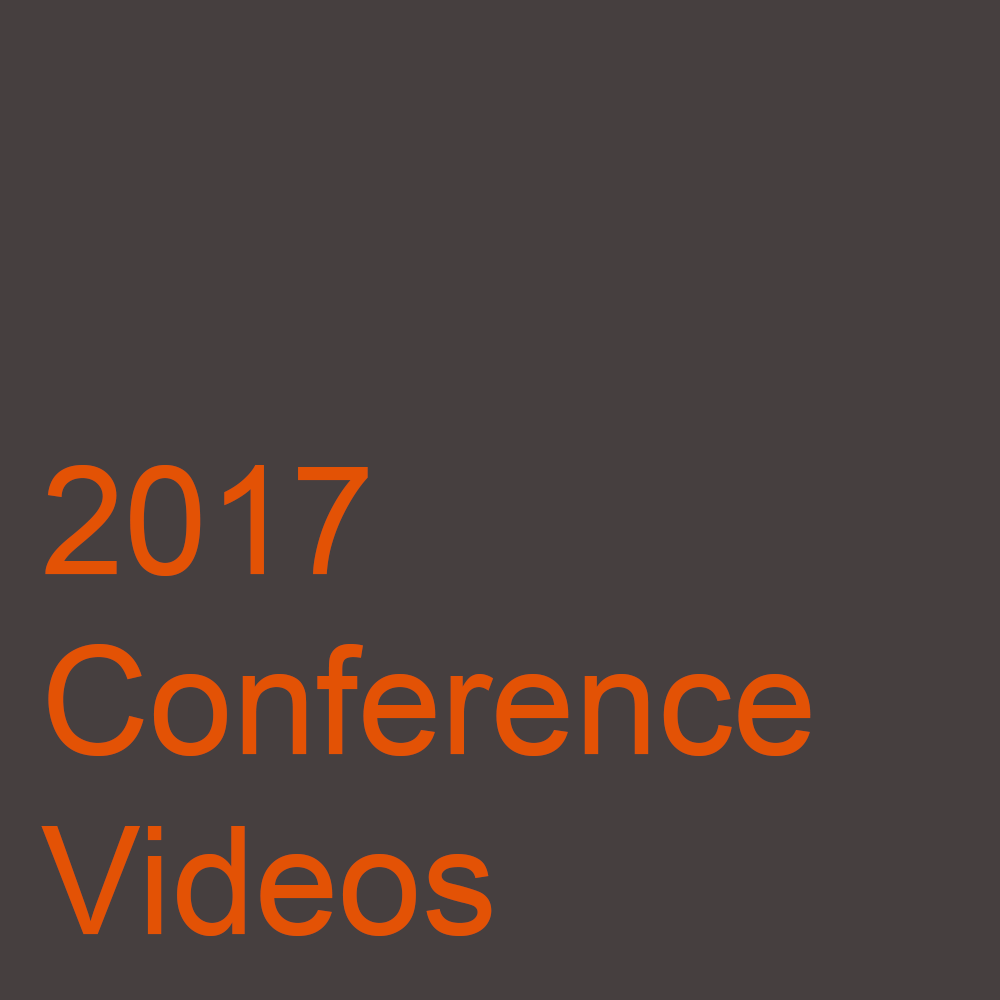 2017 Conference Videos