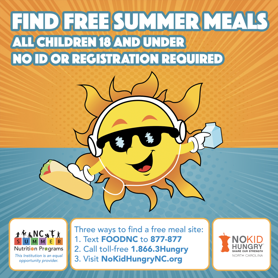 Summer meals promotional magnet thumbnail